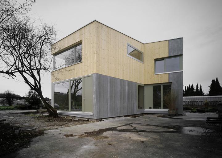 Scan Haus house müller gritsch in lenzburg